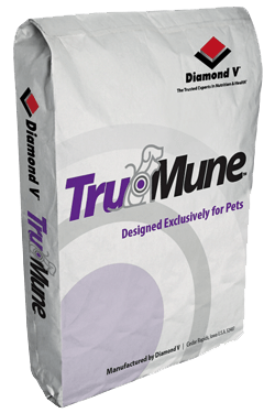 TruMune - Diamond V's nutritional health product for pets